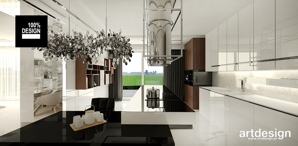 luksusowa kuchnia projekty inspiracje