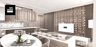 projekt wnetrza apartamentu artdesign