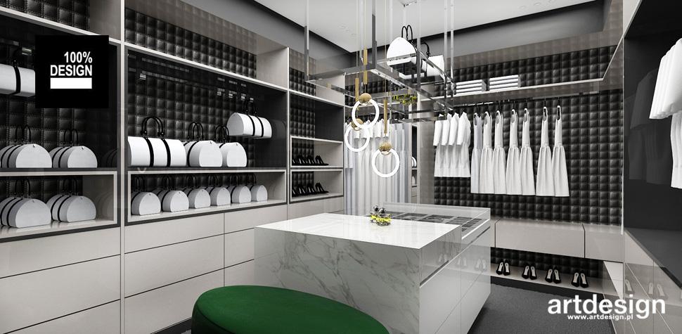 wnętrza projekty garderoba