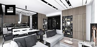 nowoczesne wnetrze apartamentu