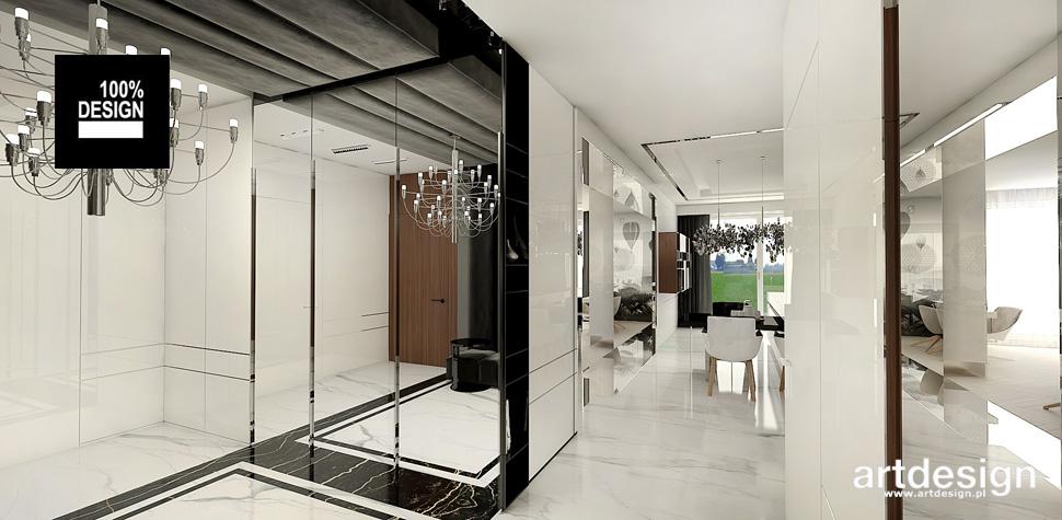 piękne wnętrze eleganckiego apartamentu