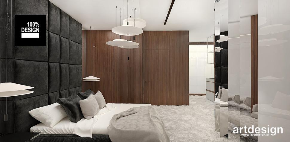 wysublimowana sypialnia projektowanie wnętrz