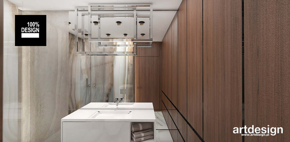 przepiękna jasna łazienka