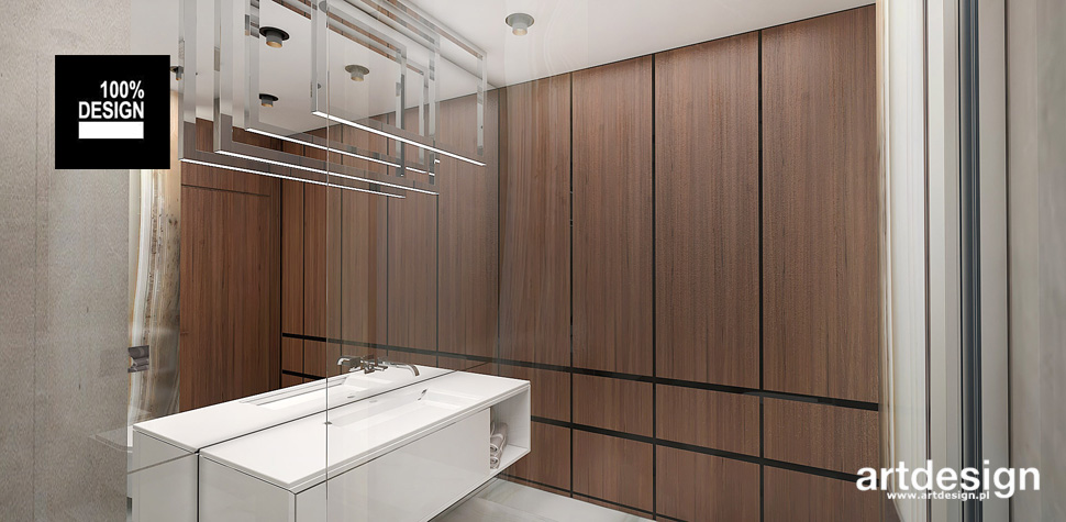 przestronne wnętrze łazienki inspiracje