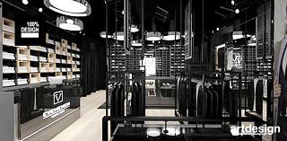 projekt wnetrza sklepu