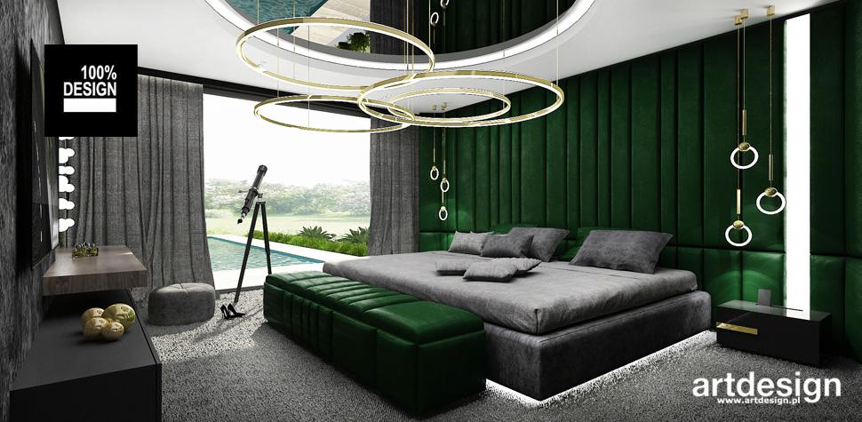 nowoczesne wnętrze sypialnia