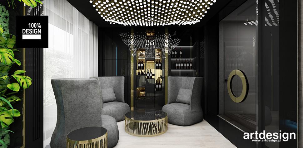 luksusowe wnętrze domu rekreacja