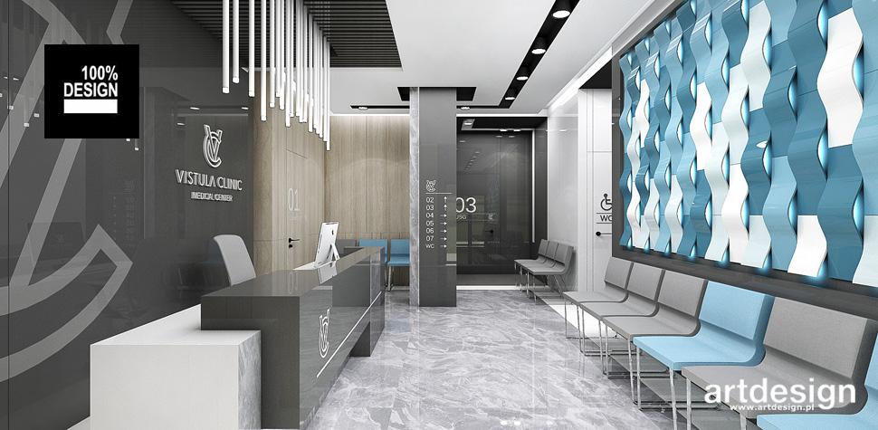 projekty wnętrz klinika stomatologiczna