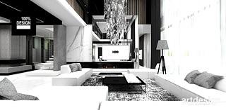 architektura wnetrz projekt salonu