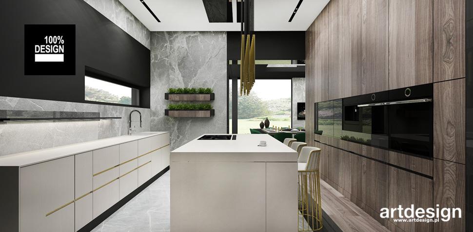 kuchnia artdesign projekt wnętrz