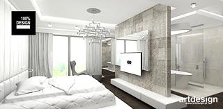 minimalistyczna aranzacja sypialni