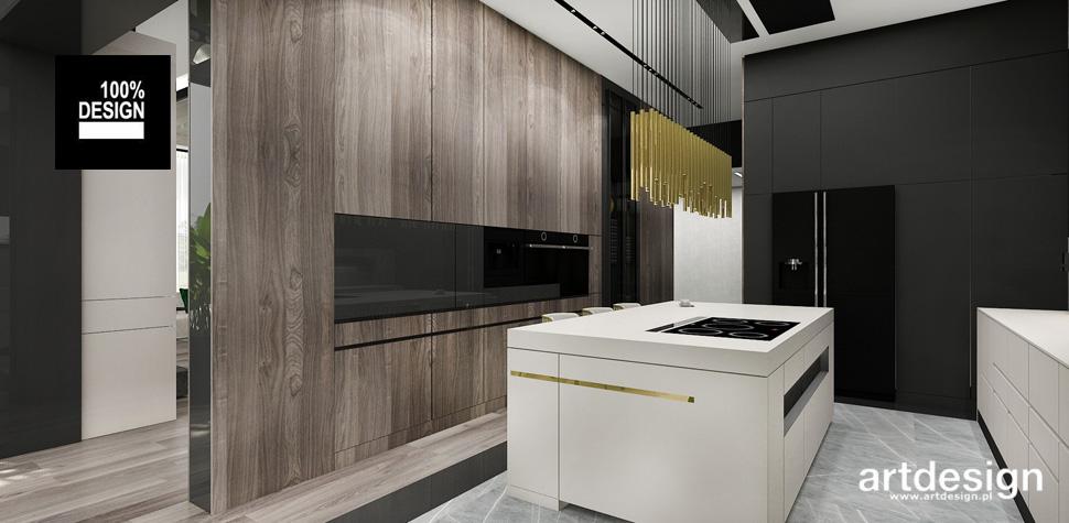 projektowanie wnętrz kuchnie