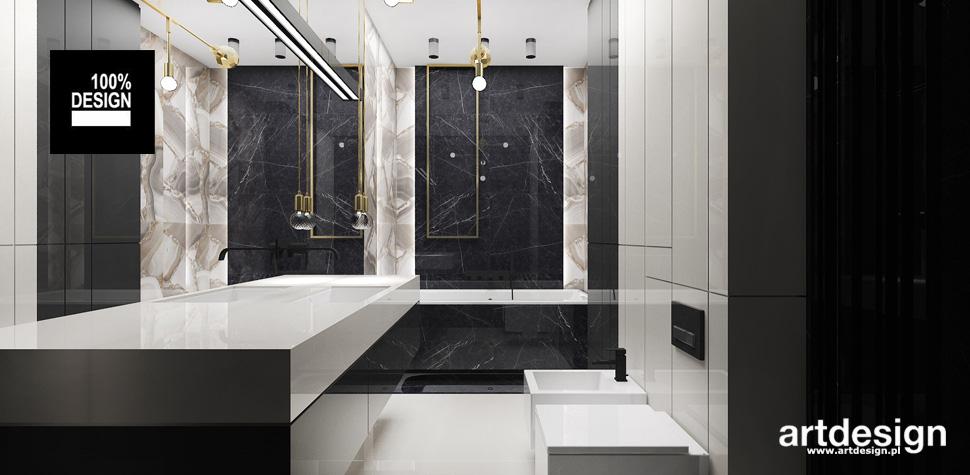 design wnętrz projekty łazienek