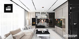 projekty wnetrz apartament bezowe wnetrza