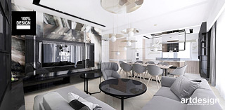 projekty wnetrz nowoczesnego domu