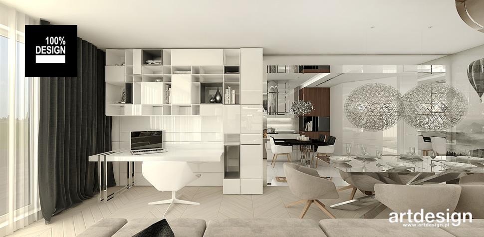 wnętrze salonu w apartamencie