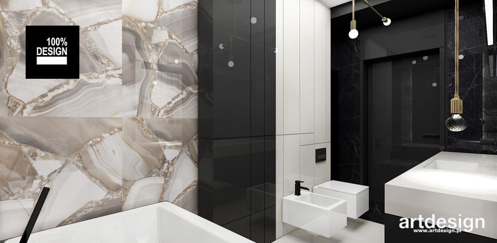 nowoczesna łazienka projektant wnętrz