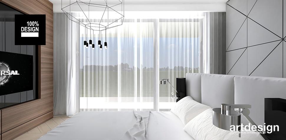 stylowa aranżacja sypialni