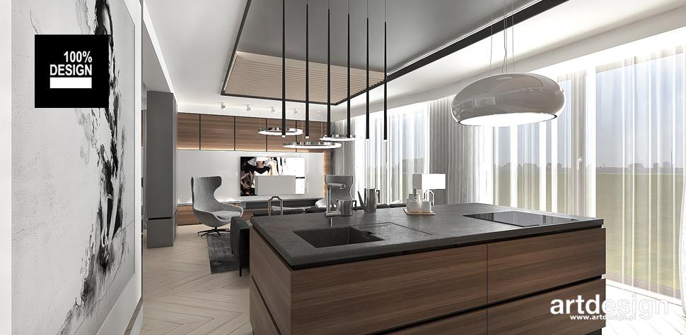 minimalistyczne wnętrze mieszkania