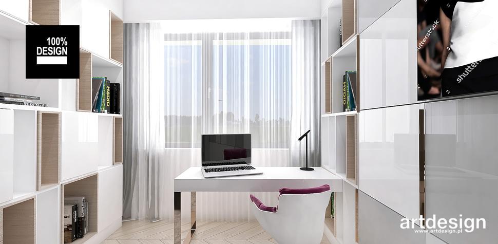 przestronny komfortowy pokój projekt