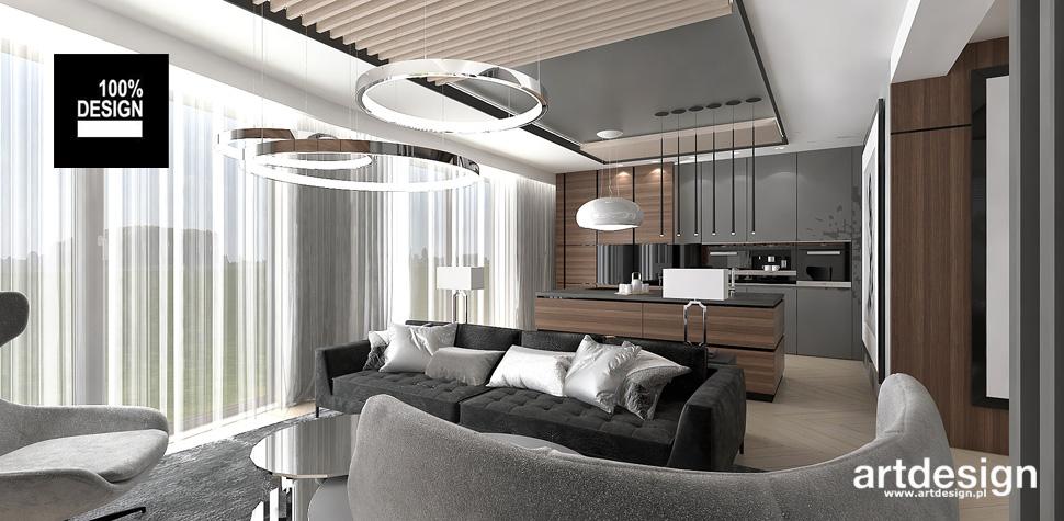 eleganckie wnętrze w stylu nowoczesnym