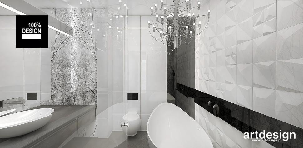 elegancka biała łazienka