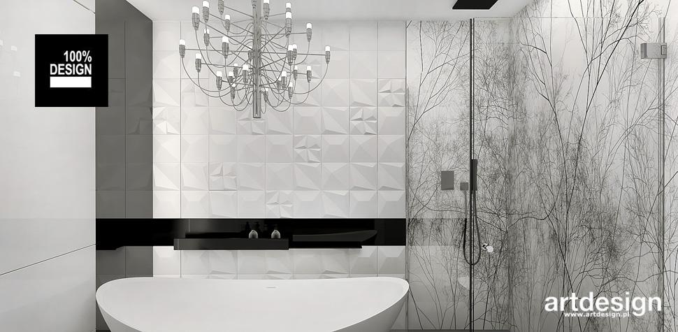 piękna łazienka z wanną
