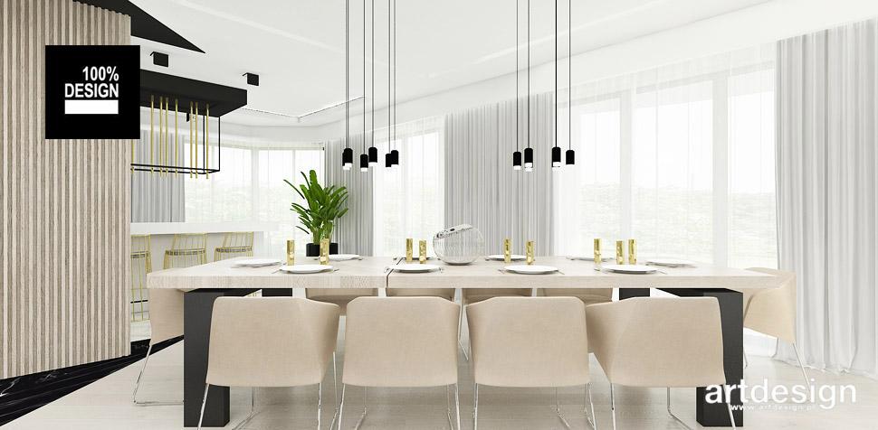 projektowanie wnętrz jadalnia dom