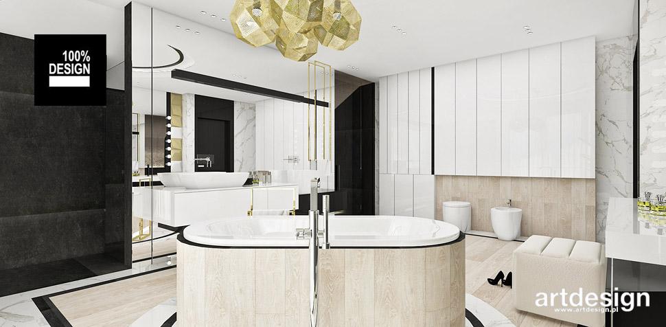 projekty łazienek architekt wnętrz