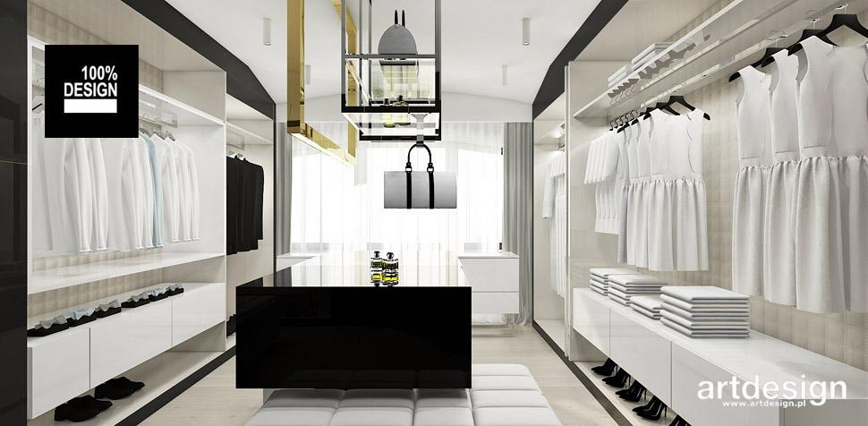 garderoba luksusowy dom wnętrze