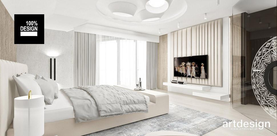 piękna sypialnia wystrój