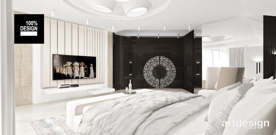harmonijne wnętrze sypialnia