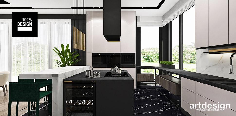 nowoczesne wnętrze kuchnia