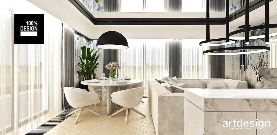 projekt wnętrz apartamentu Poznań