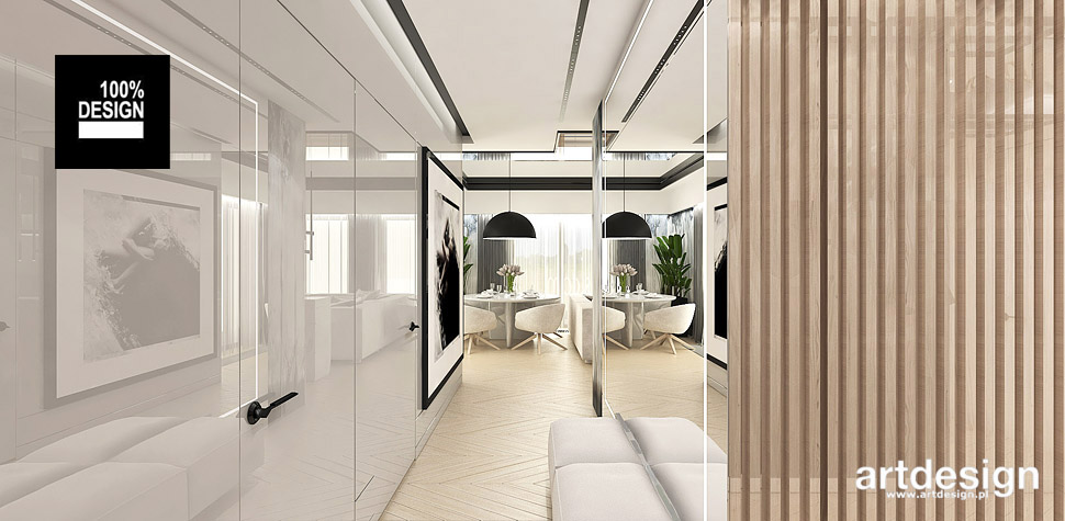 piękne mieszkanie w nowoczesnym stylu