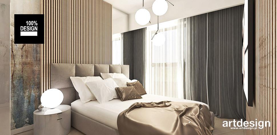 architekt wnętrz projekt sypialni