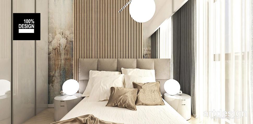 aranżacja sypialni ciepłe kolory