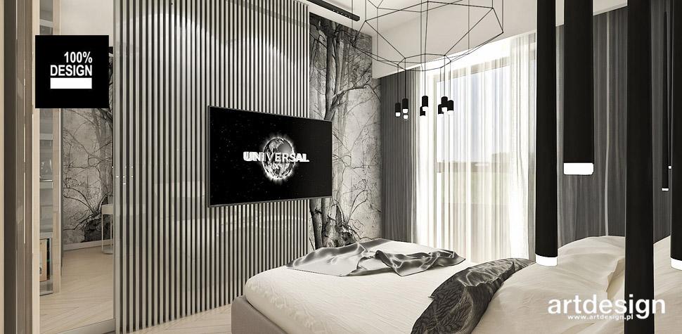designerskie wnętrza sypialnia