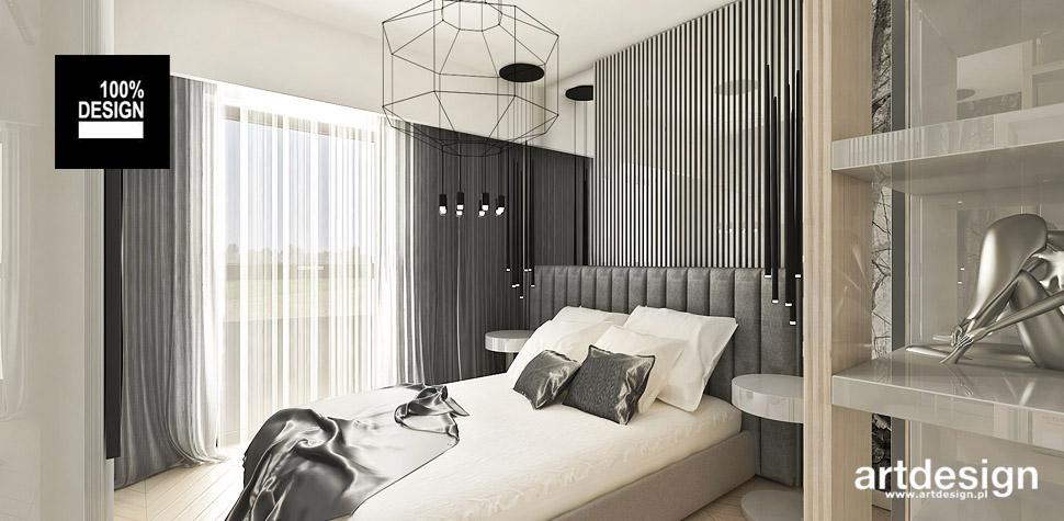 aranżacje wnętrz sypialnia nowoczesna