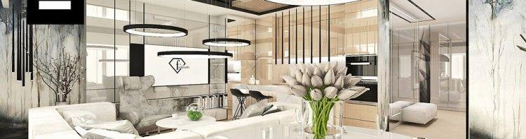 nowoczesna aranżacja wnętrza apartamentu