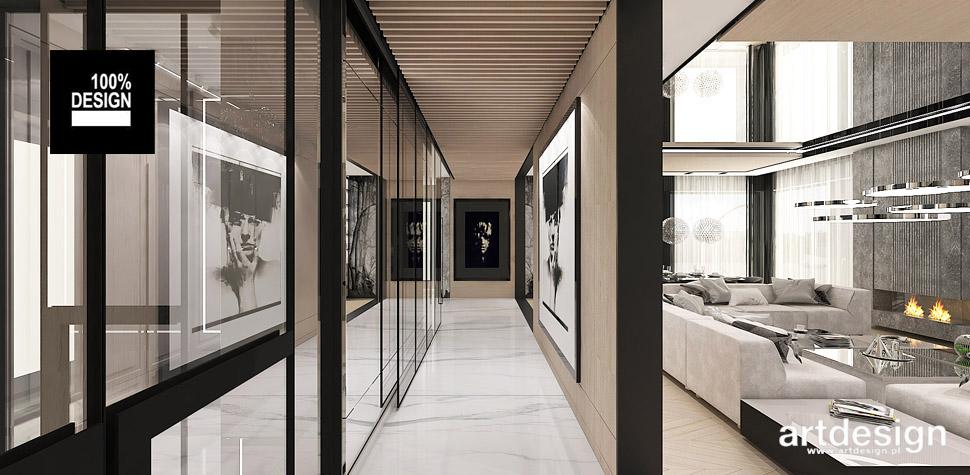 nowoczesna architektura wnętrz domu