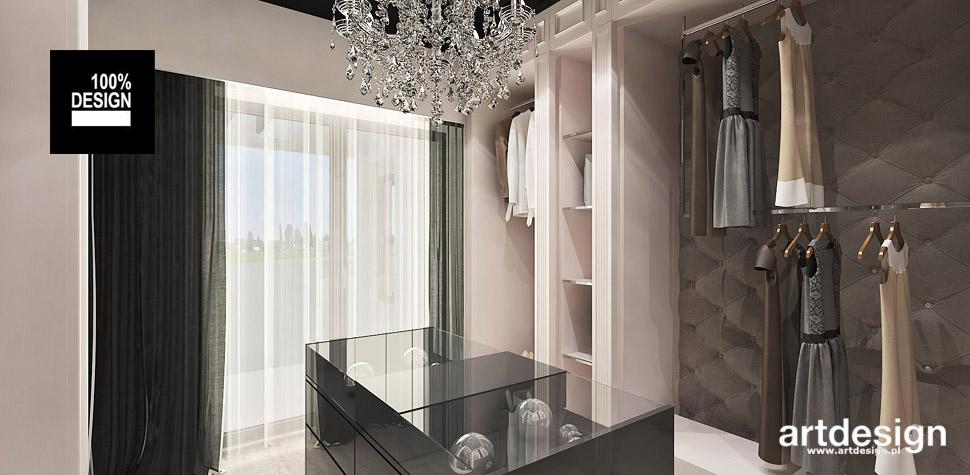 design wnetrz garderoba