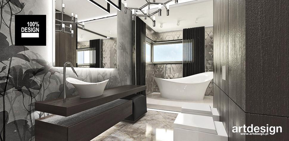 łazienka wnetrza projektowanie