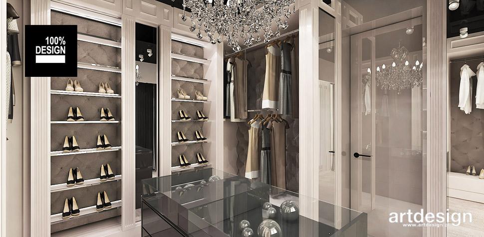 projektowanie wnętrz garderoba