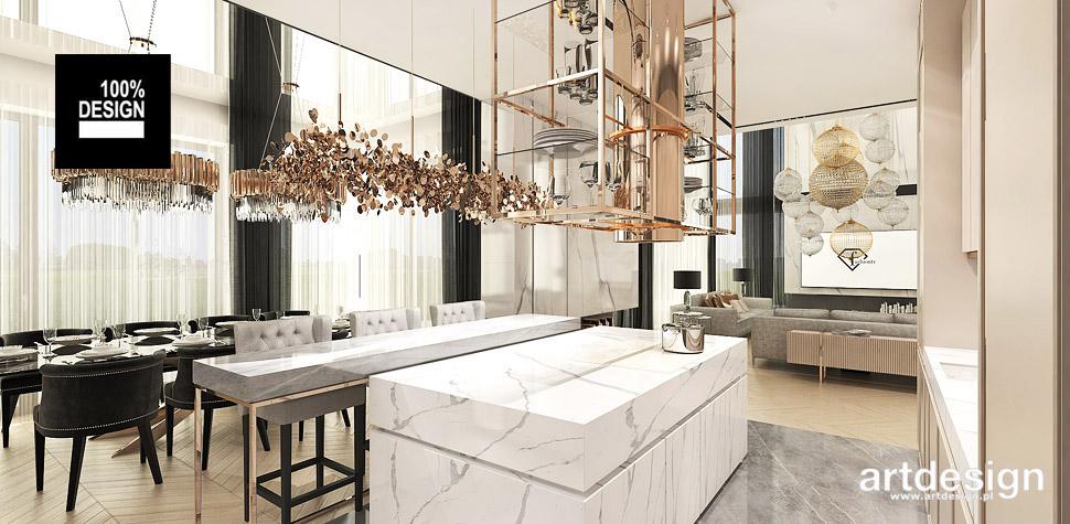 luksusowa kuchnia projekt wnętrza