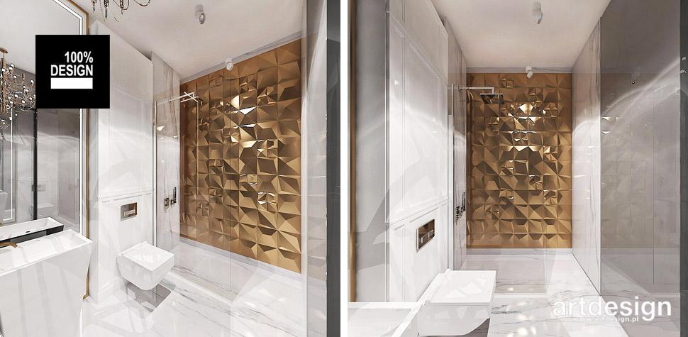 efektowne wnętrza łazienka