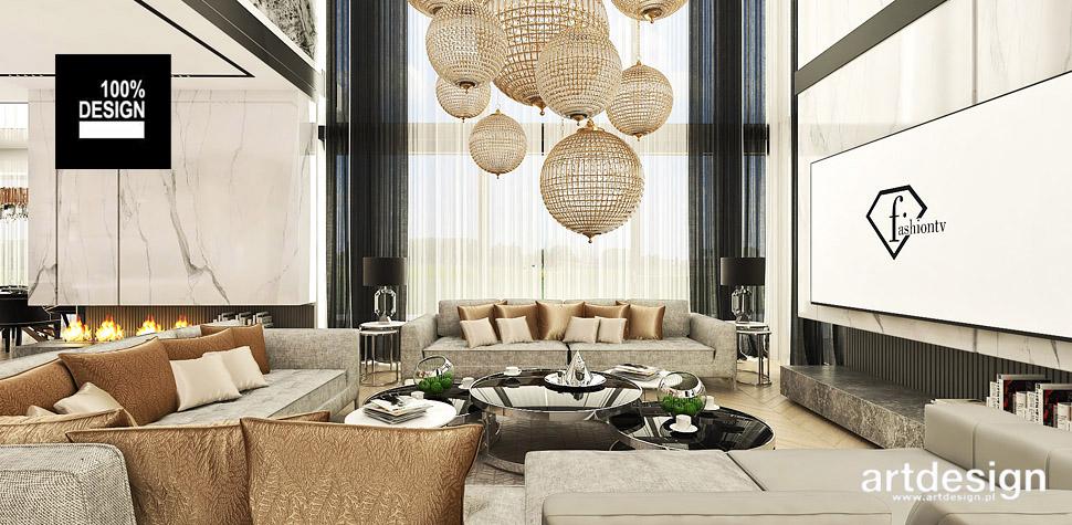 luksusowy design wnętrz salon