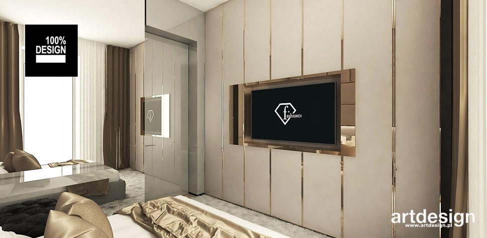 wysublimowane wnętrze sypialnia