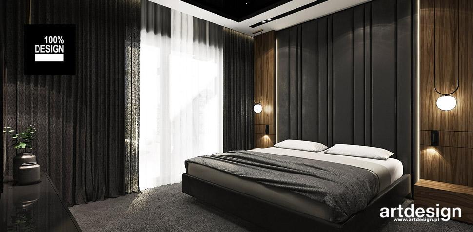 aranżacja sypialnia wnętrz projekt