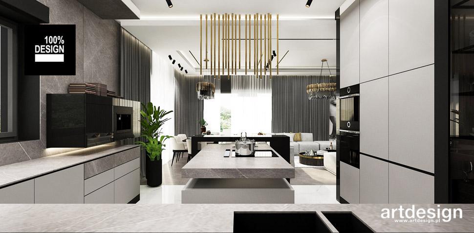 nowoczesny design wnetrz kuchnia